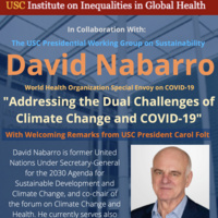 Addressing the Dual Challenges of Climate Change and COVID-19