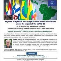 Regional Integration and European-Latin American Relations
