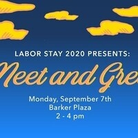 Labor Stay 2020: Meet and Greet