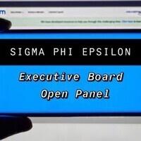 Sigma Phi Epsilon Executive Board Open Panel