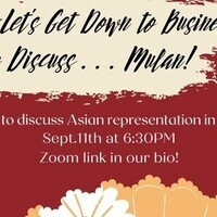Let's Get Down to Business! To Discuss ... Mulan!