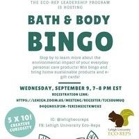 Bath and Body Bingo | Sustainability
