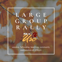 """Living by Faith"": Large Group Rally"