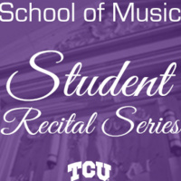 Student Recital Series: Darrien Spicak, percussion