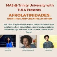 Afrolatinidades: Identities and Creative Activism