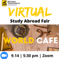 Virtual Study Abroad Fair: World Cafe - Faculty-Led Study Abroad
