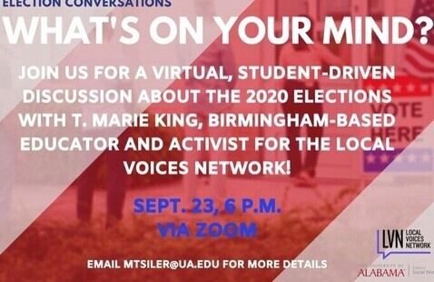 Election Conversations: What's on your mind?