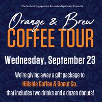 Orange & Brew Hillside Coffee Giveaway
