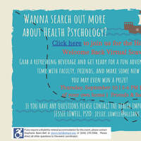 Health Psychology Welcome Back Event