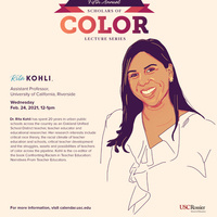 USC Rossier Scholars of Color Lecture Series - 2020-2021