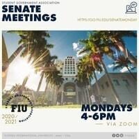 SGA Senate Meetings