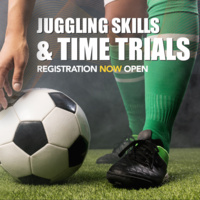 Soccer Time Trails and Juggling Skill Challenges