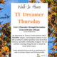 TU Dreamer Thursday Walk-In Hours