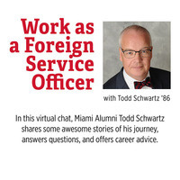 Work as a Foreign Service Officer With Todd Schwartz '86