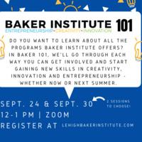 Baker Institute 101