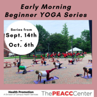 Early Morning Yoga Series