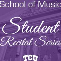 Student Recital Series: Sean Wright, saxophone.  Cecilia Kao, piano.