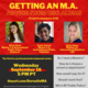 Getting an MA: Advice from USC Alums