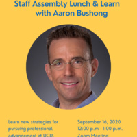 Lunch & Learn: Strategies for pursuing professional advancement at UCR