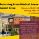 Returning from Medical Leave Support Group