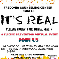 """It's Real"" -Suicide Prevention"