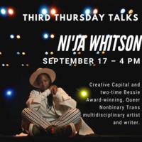 Third Thursday Talks: Ni'Ja Whitson