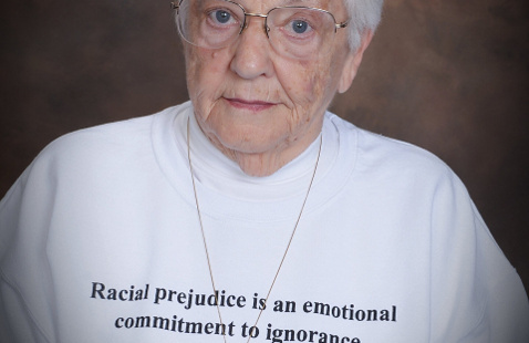 Jane Elliott, known for her Blue Eyes/Brown Eyes classroom exercise