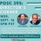 POSC 395: Director's Corner