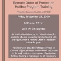 RSVP by Thursday, September 17 to pbcsi@depaul.edu. Zoom link to be provided