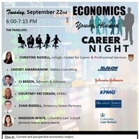 Economics Young Alumni Career Night
