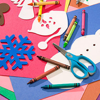 Take & Make: Snowflake Ornaments