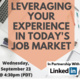 Leveraging your experience in today's job market