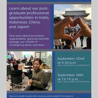 Oberlin Shansi Fellowships: Virtual Info Session
