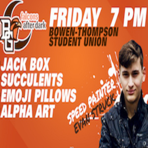 Falcons After Dark-Jack Box and Art Night