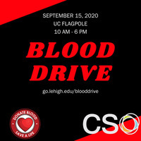 Blood Drive on 9/15- urgent need for donors | Community Service