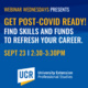 Get Post-COVID Ready: Find skills and funds to refresh your career.