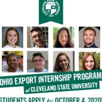 2020 Ohio Export Internship Program Interns