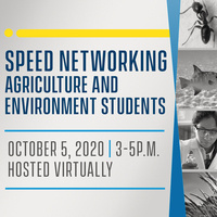 Speed Networking for Agriculture & Environment Students