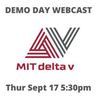 MIT delta v Demo Day Webcast