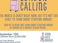 London Calling: The world is crazy right now, but it's not too early to think about studying abroad!