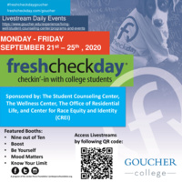 Fresh Check Day - Nine Out of Ten Booth!
