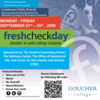 Fresh Check Day - Be Yourself!