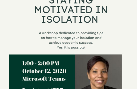 Staying Motivated in Isolation