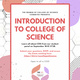 Women of COS Committee Presents: Introduction to College of Science