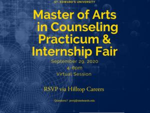 Master of Arts in Counseling (MAC) Practicum & Internship Fair