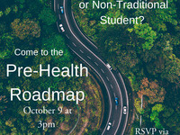 Post-Bacc and Transfer Pre-Health Student Roadmap Information Session