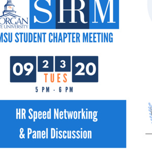 SHRM Speed Networking and Panel Discussion