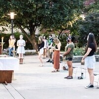 Sunday Student Mass on the Patio @8:30