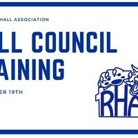 Hall Council Training