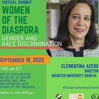 'Women of the Diaspora: Gender and Race Discrimination' Summit